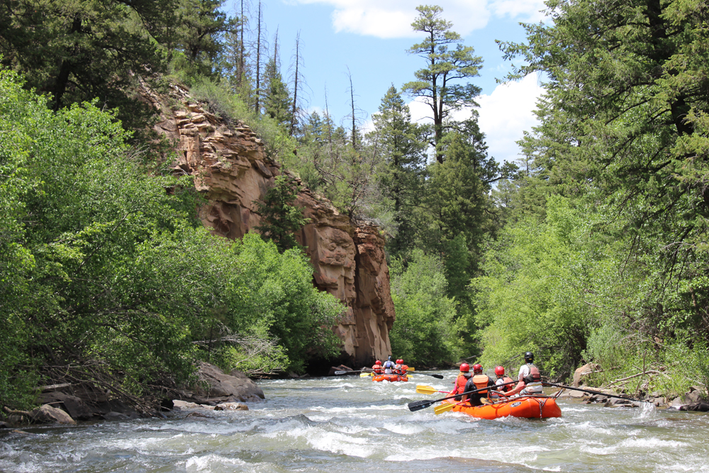 Mild to Wild Whitewater Rafting Tours Durango